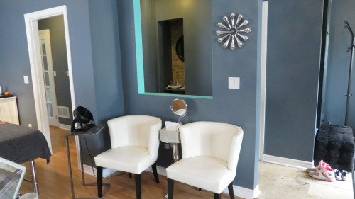 Doll Face Spa Waiting Room