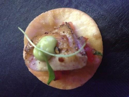 Fish taco from Brassaii