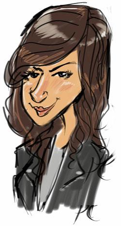 Karina-Annason-Caricature-Sketch