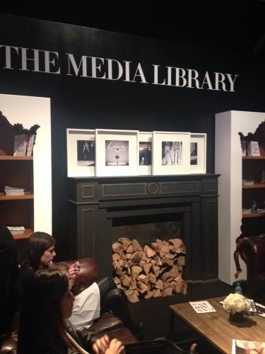 Media Library at Rachel Sin Show