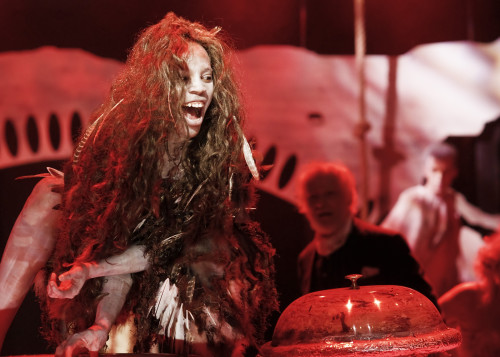 Amaka Umeh as Ariel in The Tempest, photo Scott Gorman