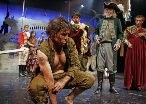 Cast of The Tempest at Hart House Theatre, photo Scott Gorman