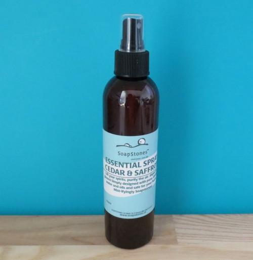 SoapStones Essential Spray in Cedar & Saffron