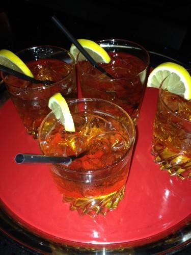Dizzy Dame cocktail at CC Lounge