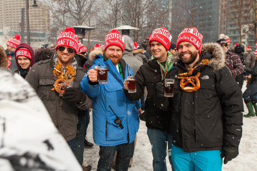 Roundhouse Winter Craft Beer Festival, photo credit Jeff Rogers