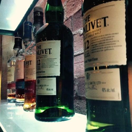 Glenlivet Scotch at CC Lounge
