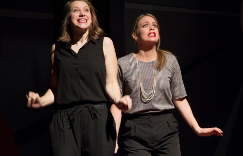 Second City's Holidazed & Confused, photo credit Paul Aihoshi