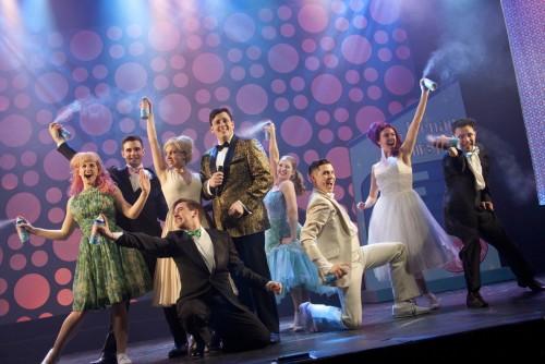 Cast of Hairspray at the Randolph Theatre in Toronto, photo Seanna Kennedy
