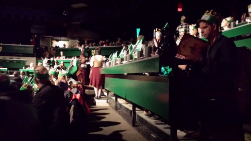 Guests seated at Medieval Times