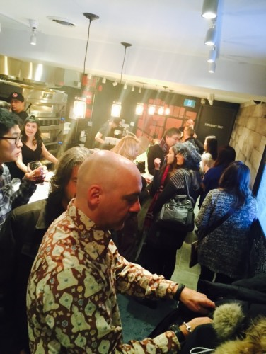 Levetto Restaurant Opening Party at College and Dovercourt in Toronto