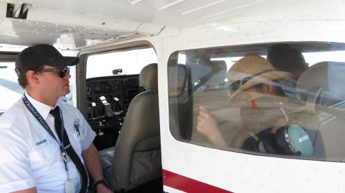Graeme, our pilot