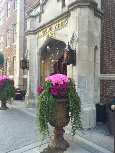 The Windsor Arms Hotel in Toronto