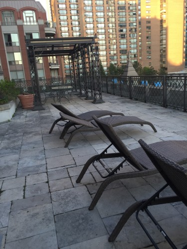 Rooftop at Windsor Arms Hotel, Toronto