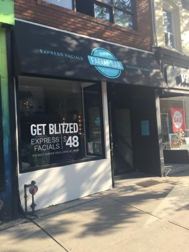 Body Blitz Facial Bar at 803 Queen Street West