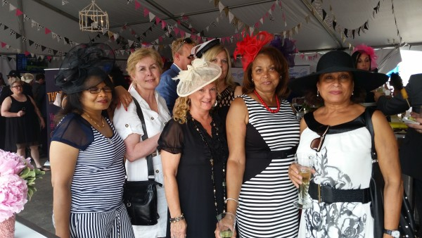 Hats & Horseshoes Party at 2015 Queen's Plate
