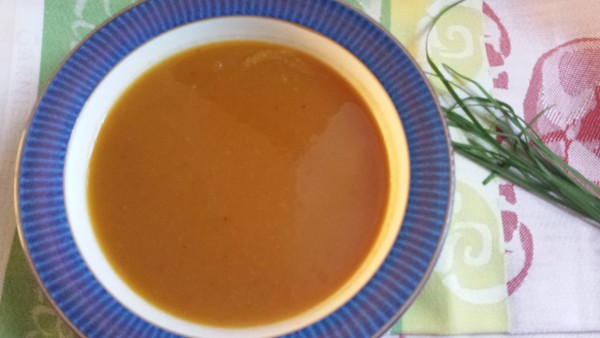 Butternut Apple Soup with Swiss Cheese from 175 Essential Slow Cooker Classics by Judith Finlayson