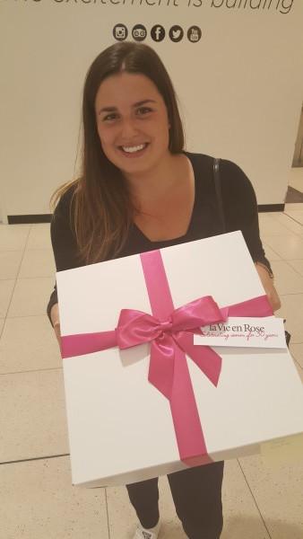 My gift box of lingerie from la Vie en Rose