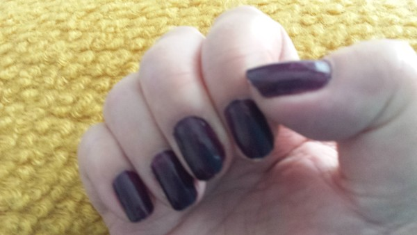 Rock Royalty Weekly Polish after 5 days