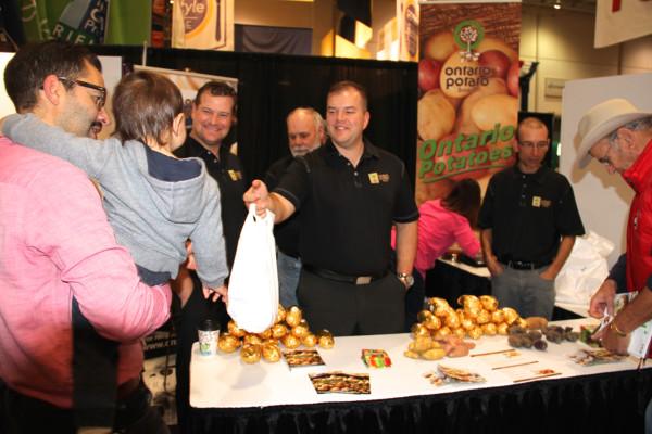 Ontario Potatoes at the Royal Winter Fair 2015