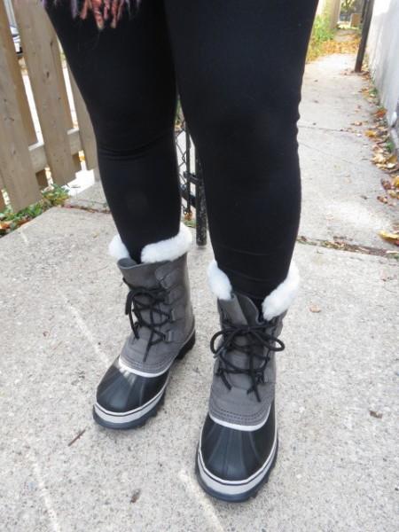 Sorel Women's Caribou Boot in Shale, $180