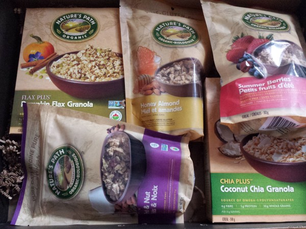 Nature's Path giveaway