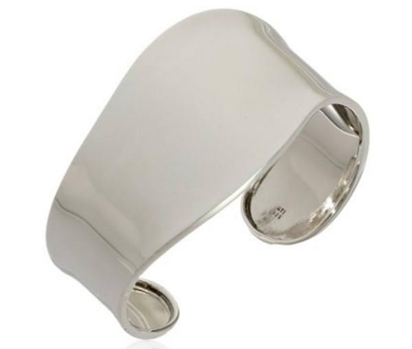 Sterling Silver Wave Cuff Bracelet, $97.99 from Amazon Collection
