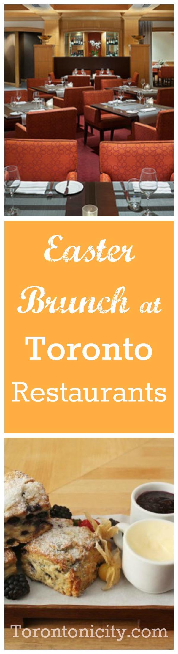 Easter Brunch at Toronto Restaurants 2016 collage