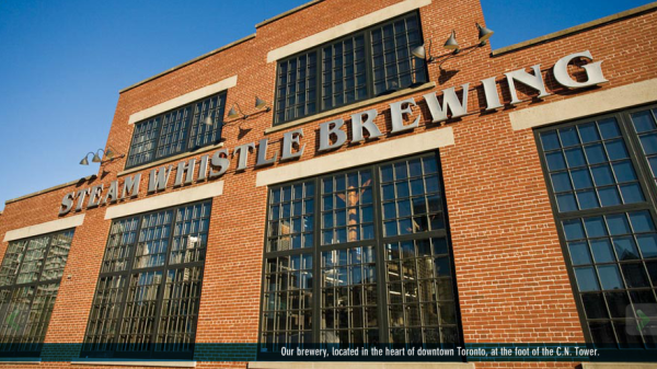 Steam Whistle Brewing, Roundhouse Park, Toronto