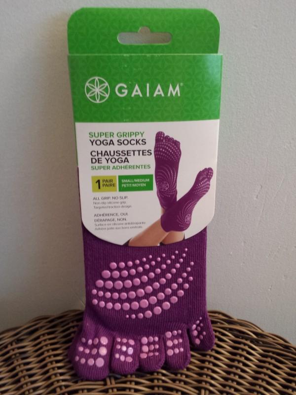 Super Grippy Yoga Socks from Gaiam