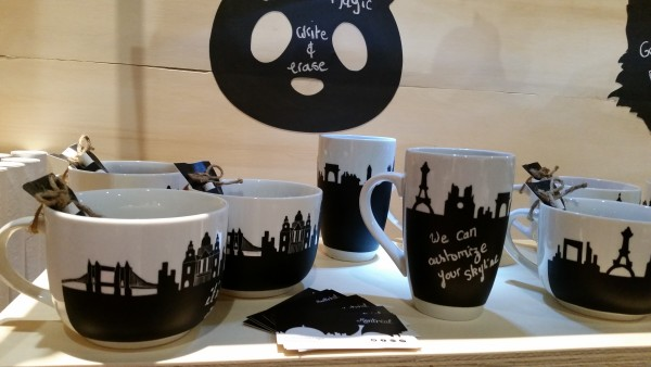 Alice in Montreal dishware at the One of a Kind Spring Show 2016