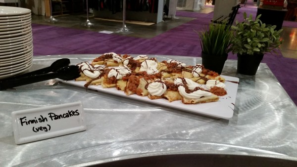 Finnish Pancakes at One of a Kind Spring Show 2016