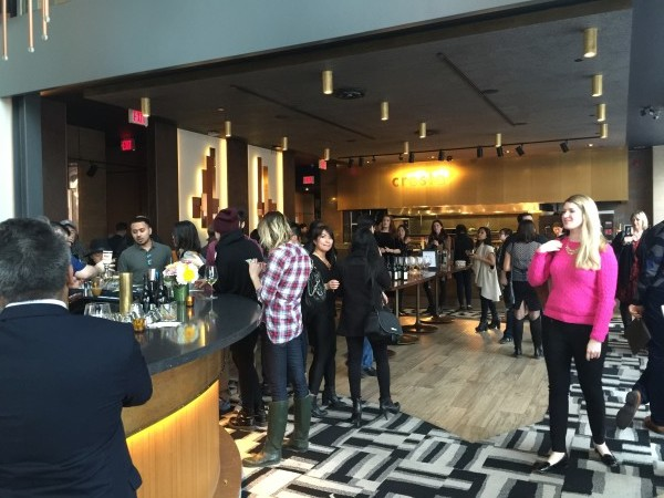 Launch party of cresta toronto on March 15, 2016