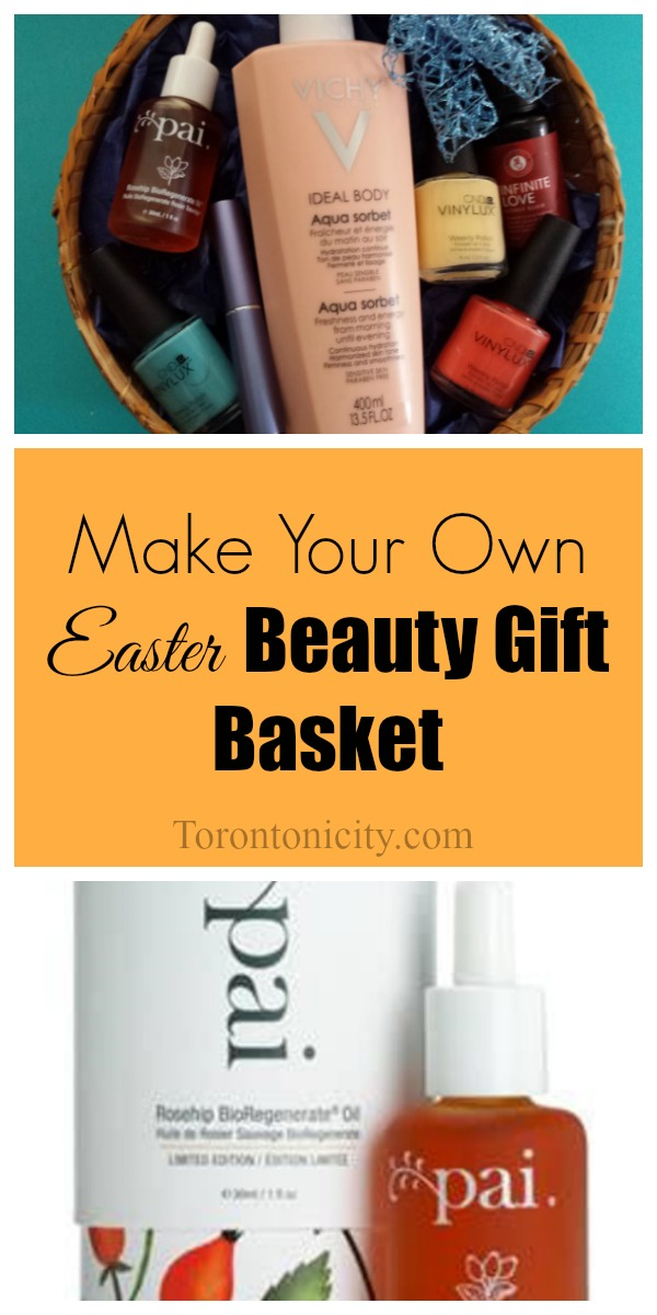 DIY Easter Beauty Gift Basket