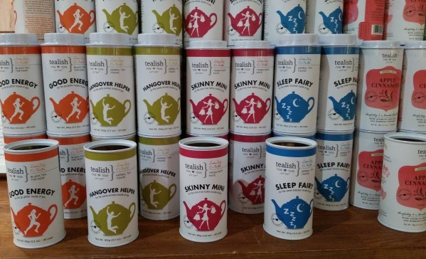 Tealish teas at the One of a Kind Spring Show 2016