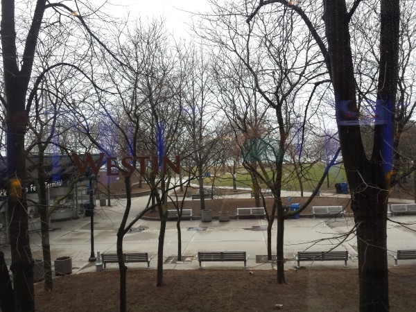 View of Jack Layton Ferry Terminal from The Chartroom Bar & Lounge