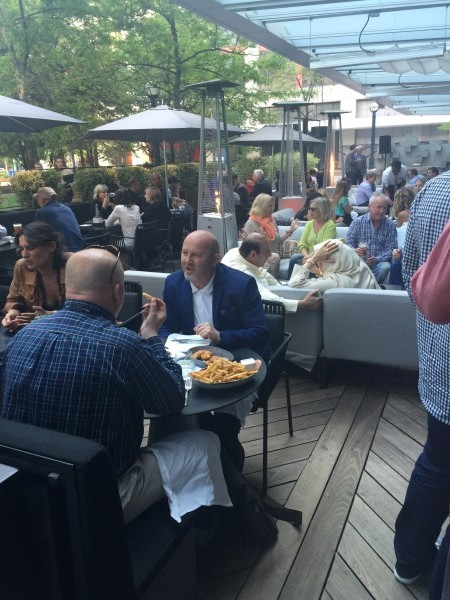 DEQ Patio is one of the best downtown Toronto patios.