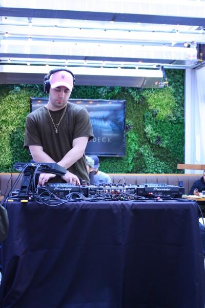 DJ Jorden at Cactus Club Cafe