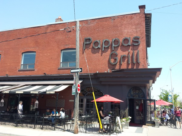 Pappas Grill on Danforth Avenue