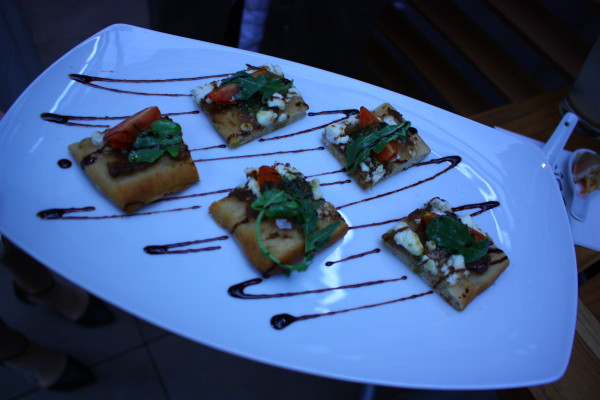Pizza Squares at Cactus Club Cafe