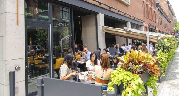 cresta toronto patio is one of the best downtown Toronto patios