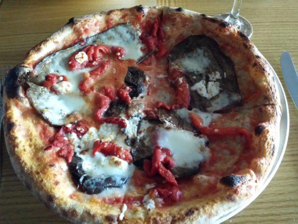 Giuseppe Pizza at Factory Girl restaurant in Toronto