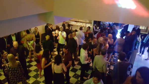 Guests enjoy Maison Moet hosted by Moet & Chandon during TIFF 2016