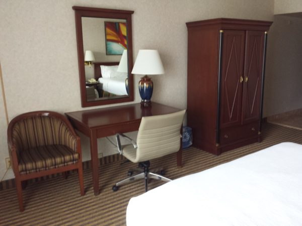 Room with two queen beds at Holiday Inn Niagara Falls By the Falls