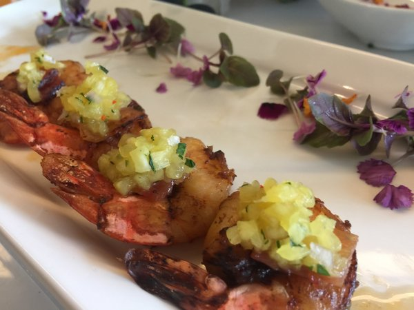 Garam Masala Jumbo Shrimp by Toben Food by Design at Toronto Catering Showcase