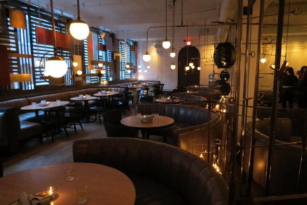 Second floor of Byblos Restaurant in Toronto