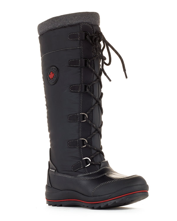 Canuck women's winter boots in black from Cougar Boots