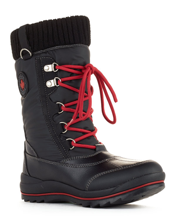 Como women's winter boots in black from Cougar Boots