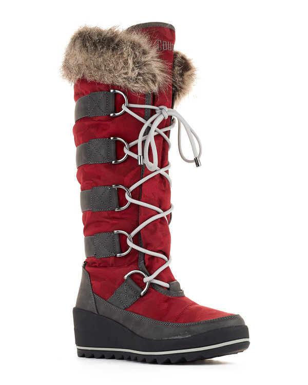 Lancaster women's winter boots in Merlot from Cougar Boots