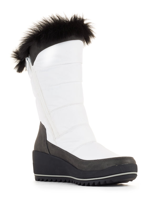 Logan women's winter boots in White from Cougar Boots