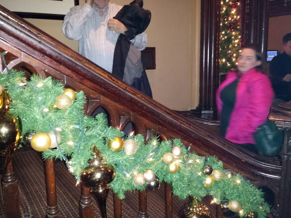 The Keg Mansion in Toronto is decorated for the holidays